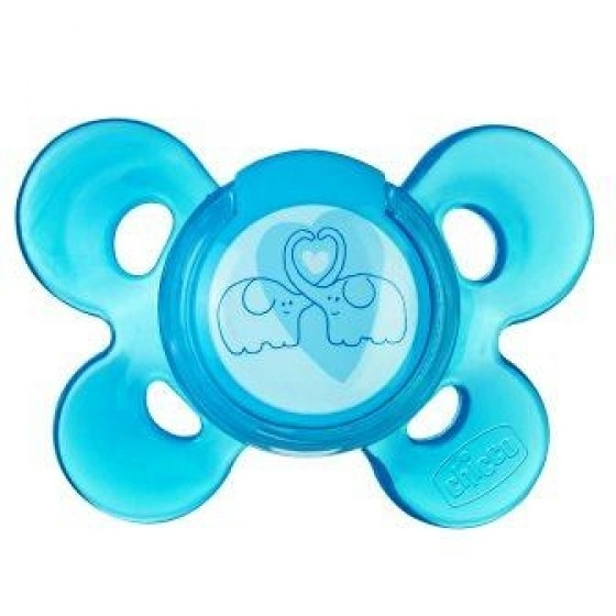 Chicco Physio Comfort Chupeta Azul Latex 4m+ X1