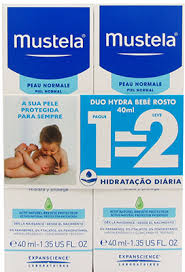Mustela Bebe Hydra Creme Rosto 40ml Duo