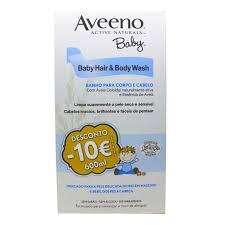 Aveeno Baby DUO PROMOCIONAL Gel de Banho Cabelo e Corpo 300 ml