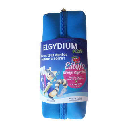 Elgydium Infantil Gel Kids Frutos Silvestres + Escova de dentes PREÇO ESPECIAL