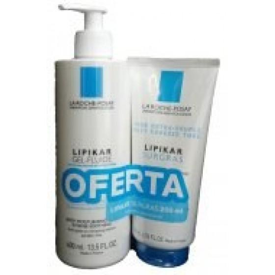 Iso-Urea Leite + OFERTA  Lipikar Surgras Creme Duche