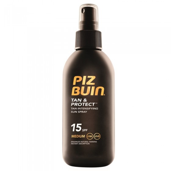 Piz Buin Tan and Protect Spray Solar SPF15 150ml