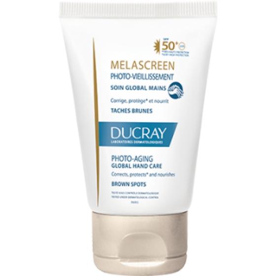Ducray Melascreen Fotoenvelhecimento Cuidado Global de Mãos SPF50+ 50ml