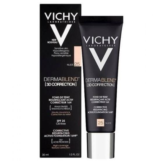 Vichy Dermablend Stick Corretor Tom 25 - Nude 4,5g