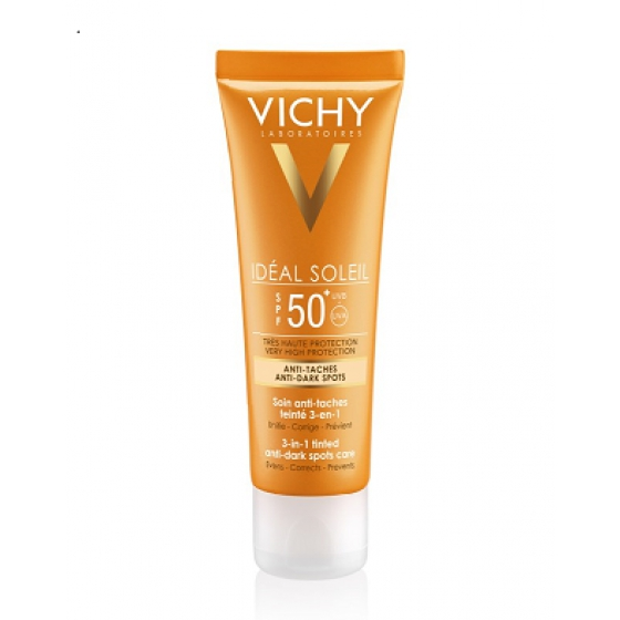 Vichy Ideal Solei Creme Antimanchas FPS 50 50ml