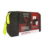 Vichy Homme Coffret Structure S 50ml+Deo roll-on antitranspirante +OFERTA Bolsa Mous