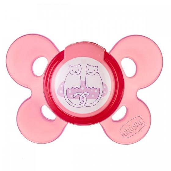 Chicco Physio Comfort Chupeta Silicone Rosa 6-12M