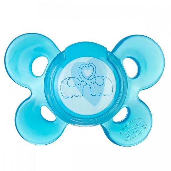 Chicco Physio Comfort Chupeta Silicone Azul 6-12M X1