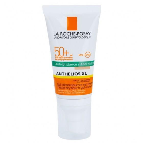 La Roche Posay Anthelios Gel Creme Toque Seco Antibrilho FPS50 Com Cor 50ml