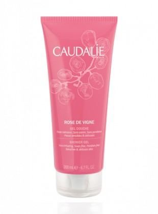 Caudalie  Gel Duche Rose De Vigne 200ml