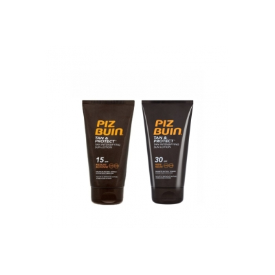 Piz Buin PACK Tan & Protect Loção FPS 30 150ml+FPS15 150ml