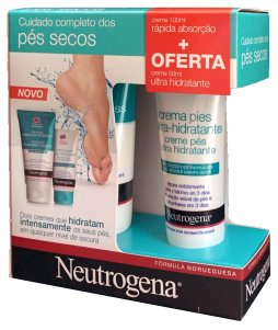 Neutrogena Pack Creme de Pés Absorção Rápida + OFERTA Creme de Pés Ultra Hidratante 100 ml50ml