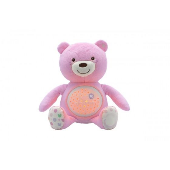 Chicco Ursinho Boa Noite Rosa+0m
