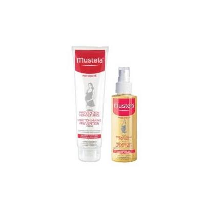 Mustela Maternidade Creme Prevenção Estrias 250 ml + OFERTA  Óleo Prevenção Estrias 150ml