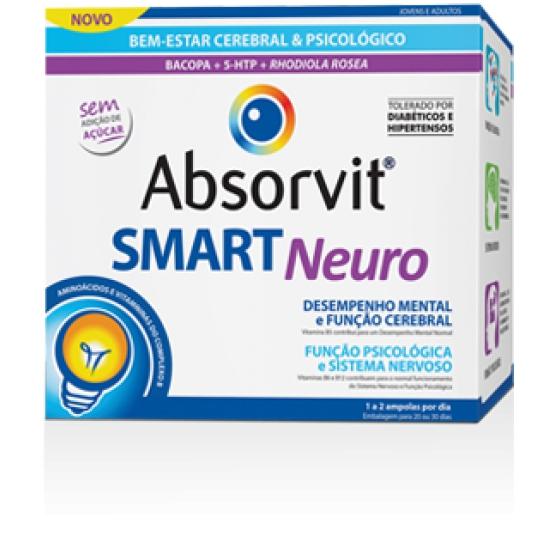 Absorvit Smart Neuro Amp 10ml X 30