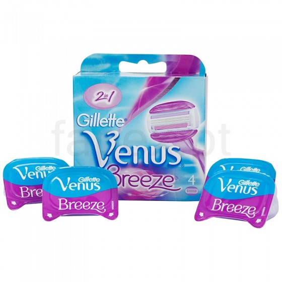 Gillette Venus Breeze Recargas X4