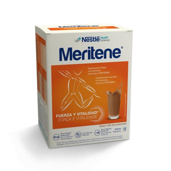 Meritene Saquetas Sabor Descafeinado X 15