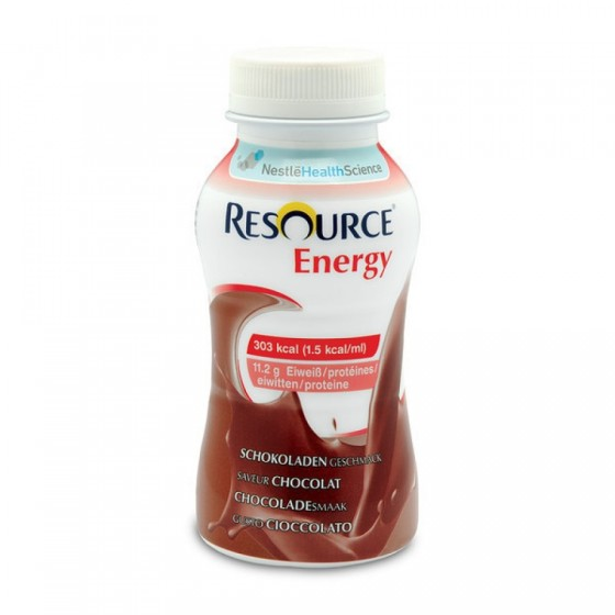 Resource Energy Sabor Chocolate x 4