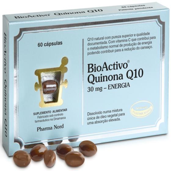 Bioactivo Quinona Q10 30mg Capsx60