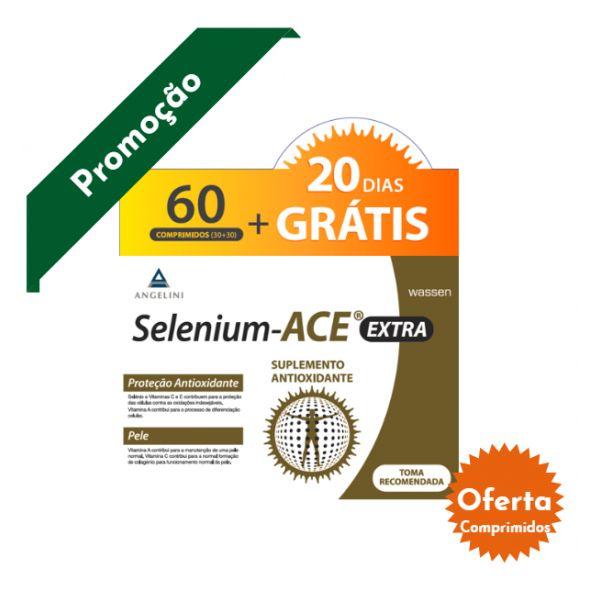 Selenium-ACE Extra Duo Comprimidos 2 x 30 Unidade(s) com Oferta de Comprimidos 20 Unidade(s)