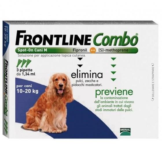 Frontline Combo Cao 10-20kg X3
