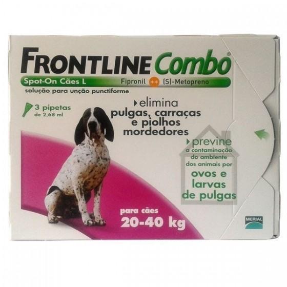Frontline Combo Cao 20-40kg X3