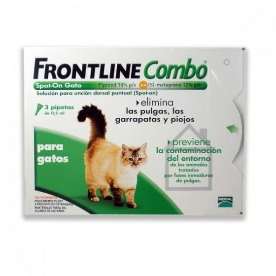 Frontline Combo Gato X3