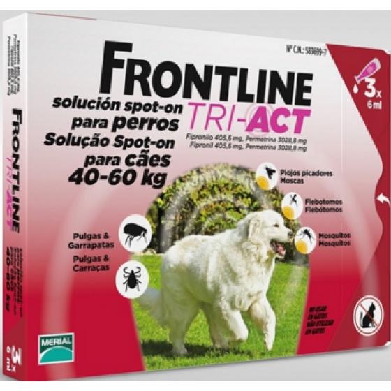 Frontline Tri-Act Xl Cao 40-60kg X3