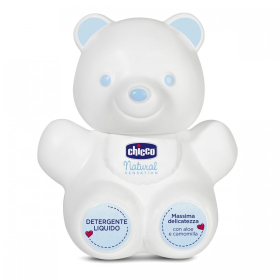 Chicco Natural Sensation Gel de Limpeza Teddy Bear 300ml