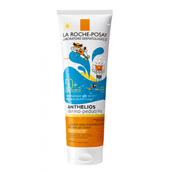 La Roche-Posay Anthelios Dermo-Pedriatrico Gel Wet Skin FPS 50+ 250ml