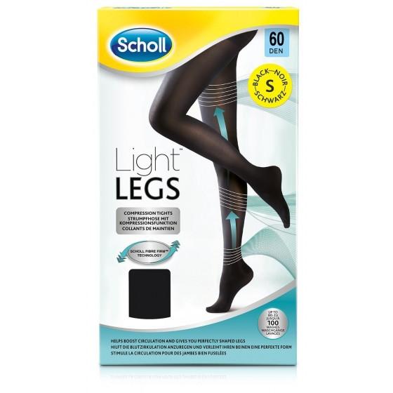 Scholl Light Legs Collant Compressão 60 den Preto S