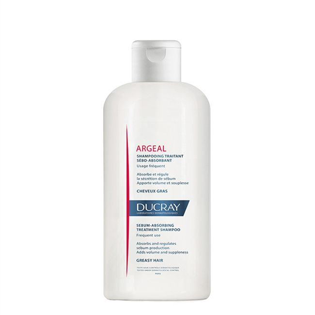 Ducray Argeal Champô Cabelos Oleosos 200ml