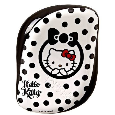 Tangle Teezer Escova Cabelo Compact Kitty Branco e Preto