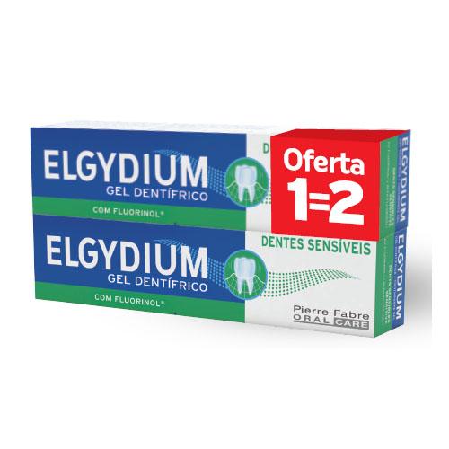 Elgydium Dentes Sensíveis Pasta Dentífrica Duo
