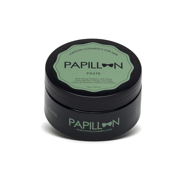 Papillon Paste Cera Fixação Media com Brilho 75g