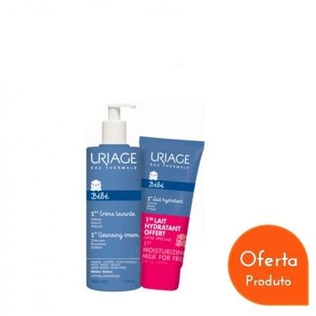 Uriage Bebé 1º Creme Lavante + OFERTA 1º Leite Hidratante