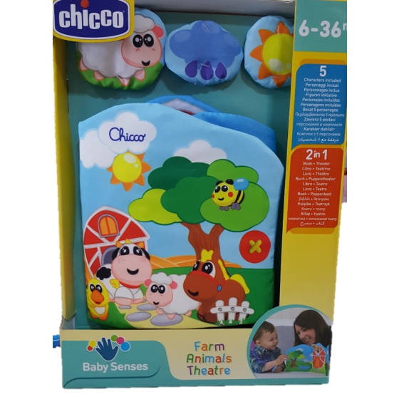 Chicco Livrinho Animais Happy Color