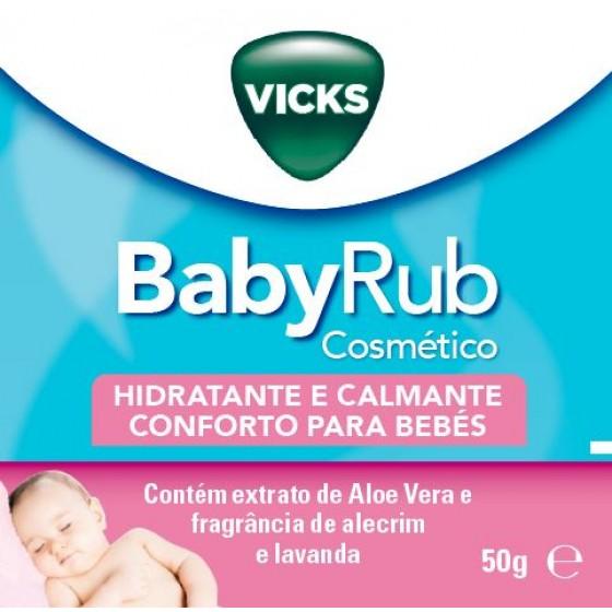 Vicks Babyrub Pda Hidra Calm 50g