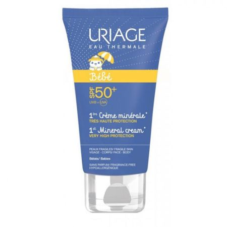 Uriage Bebe 1ere Creme Minerale SPF50+ 50ml