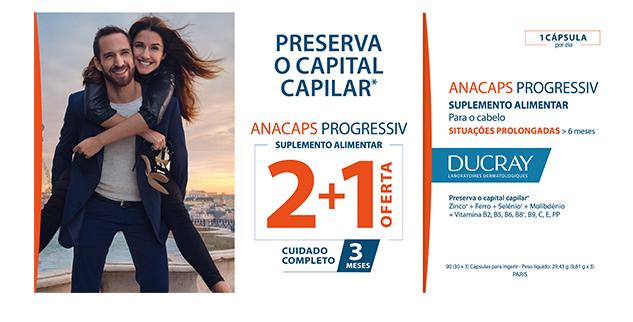 Ducray Anacaps Progressiv Anti-Queda Capsulas X30 X3