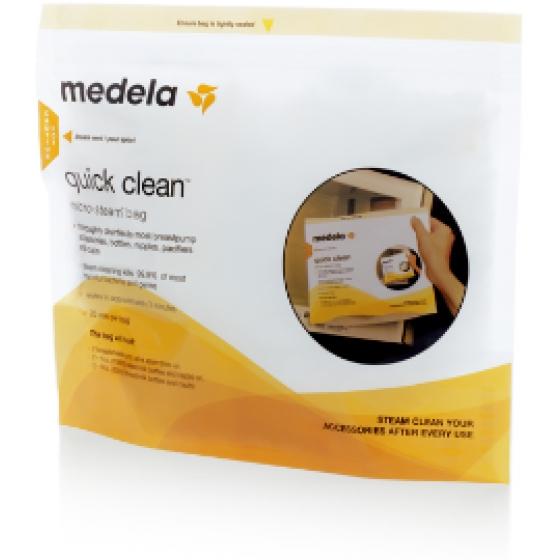Medela Sacos de esterilização para micro-ondas Quick Clean  X 5