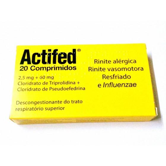 Actifed 60/2,5 mg x 20 comp