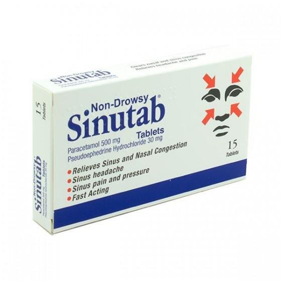 Sinutab II 500/30 mg
